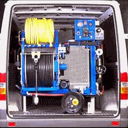 Fahrzeug für Rohrreinigungen